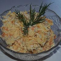 Сырный салат. Рецепт с фото