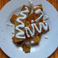 Рецепт жареной тыквы со специями