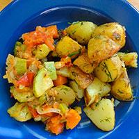 рагу овощное с картофелем