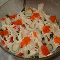 салат красная рыба рецепт