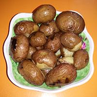 Картошка на мангале