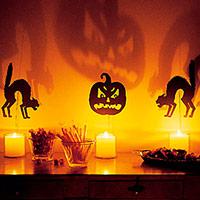 Идеи светильников на Хэллоуин