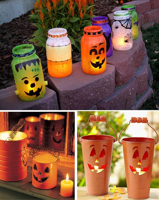 Как сделать светильник на хэллоуин