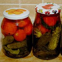 овощное ассорти рецепт