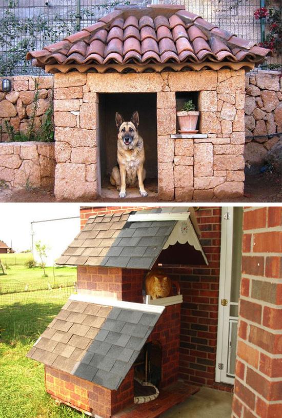 Собачья будка из поддонов фото 3