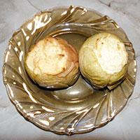 печеные яблоки с творогом рецепт