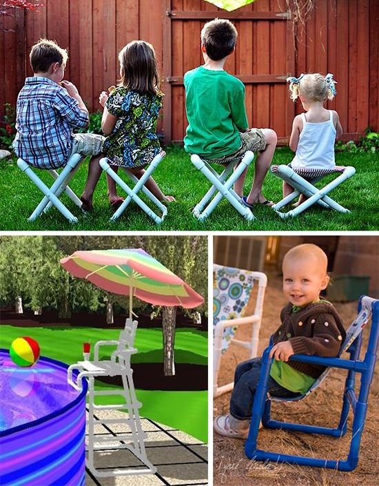 Дачные стульчики для детей