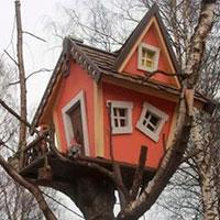 домики для дачи