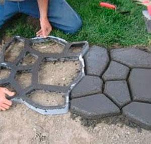 Залить бетоном дорожки керамзитобетон рецепт