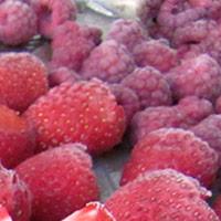 как замораживать малину и клубнику