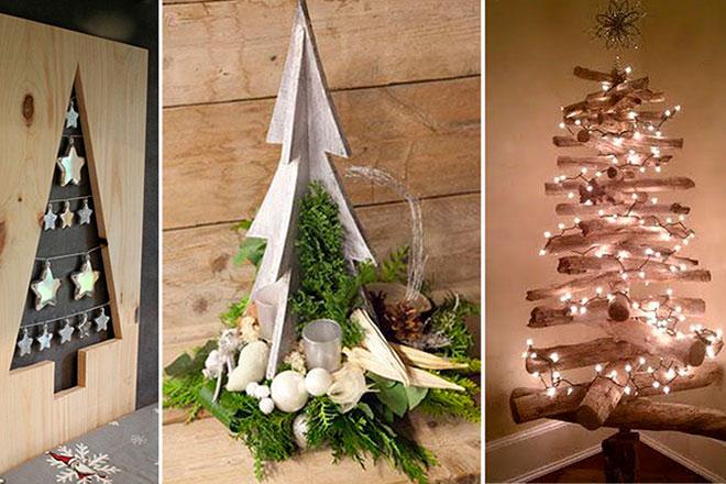 Самодельные новогодние елки для дома и сада из подручных материалов    Техноелка своими руками