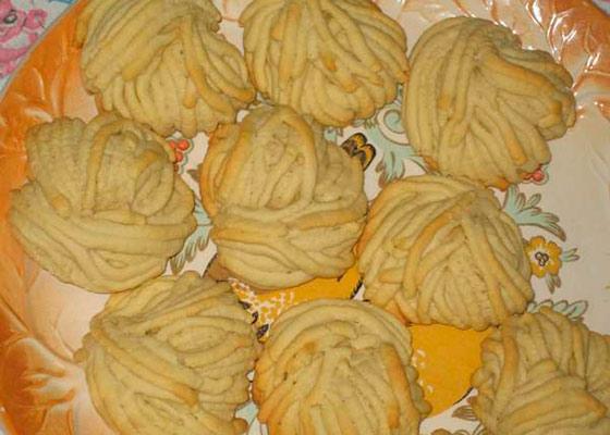 Рецепт печенья через мясорубку песочное самодельные