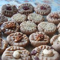 Творожное печенье из ржаной муки