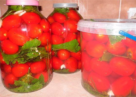 помидоры бочковые рецепт в кастрюле с горчицей