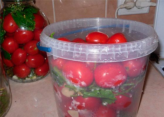 Засолка помидор холодным способом: в банках, в ведрах, в бочках. Закрутки на зиму из помидоров. Как засолить помидоры холодным рассолом