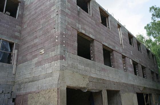 бетона камыш