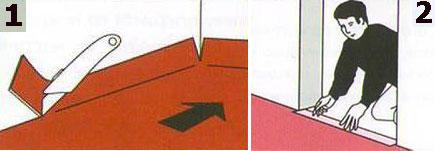 Как постелить линолеум и ковролин