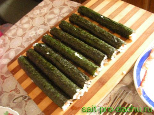 как приготовить для суши