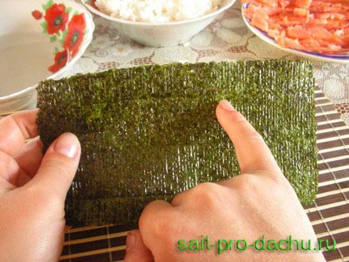 Приготовить рис для суш в домашних условиях