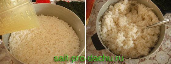 Приготовление риса для суши « Приготовление суши. Как ...