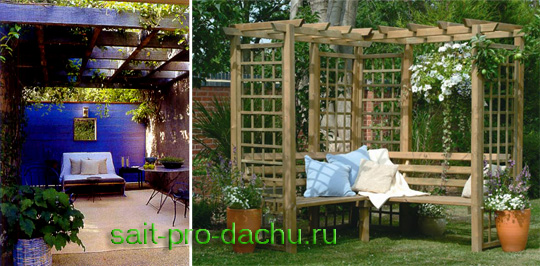 Садовая архитектура своими руками