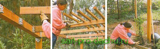 Деревянная решетка для беседки своими руками пошаговая инструкция