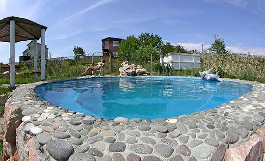 фото бассейн на даче своими руками