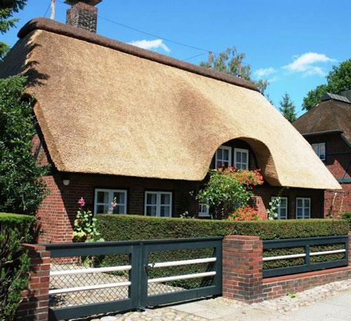 Камышовая крыша: экологично и стильно
