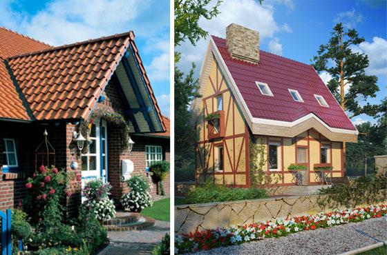 Создаем европейский стиль дачи