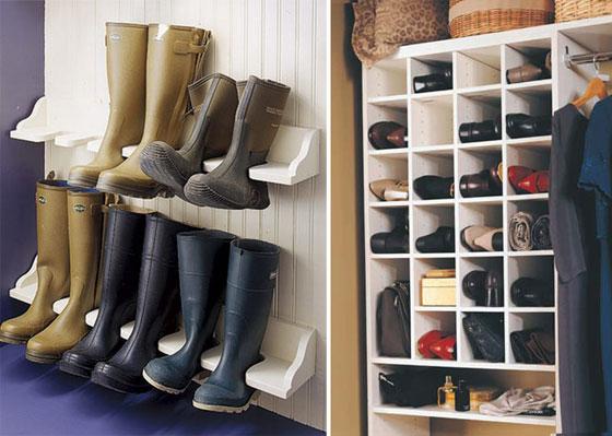 Где хранить обувь?
