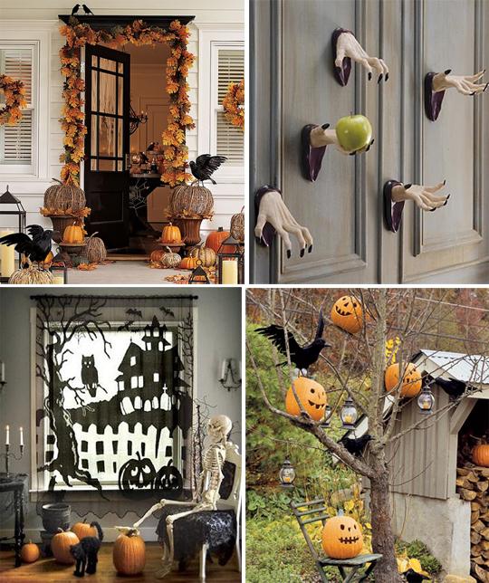 Украсить комнату своими руками хэллоуин