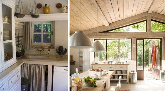 Дизайн кухни своими руками на дачу