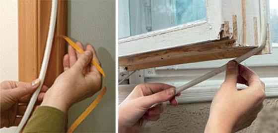 Чем и как лучше утеплять деревяныые окна