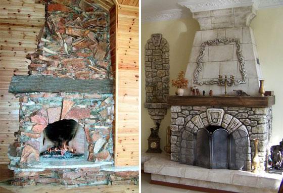 Что выбрать – камин или печь