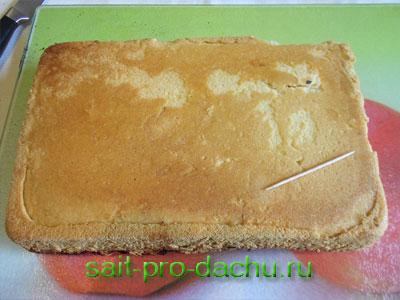Пирог с вишней пошагово в духовке