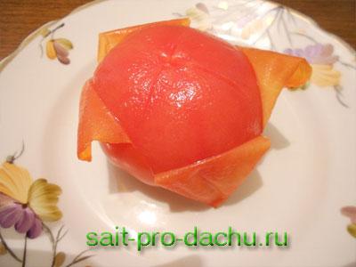 суп со свежими помидорами