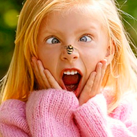 Аллергия на укусы комаров и на цветение у детей