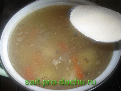 сварить суп из рыбной консервы рецепт