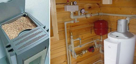 Что выбрать газовое отопление или пеллеты