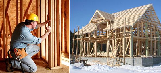 строительство каркасного дома для дачи