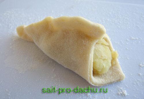 рецепт приготовления вареников с кислой капустой и картошкой