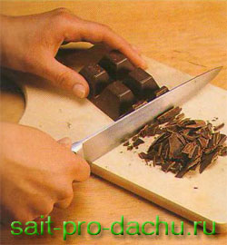 Как растопить белый шоколад в домашних условиях