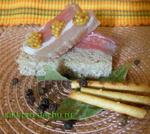 солонина из свинины