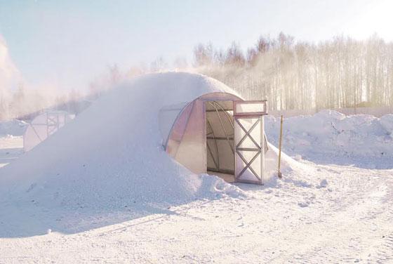 снеговая нагрузка теплицы
