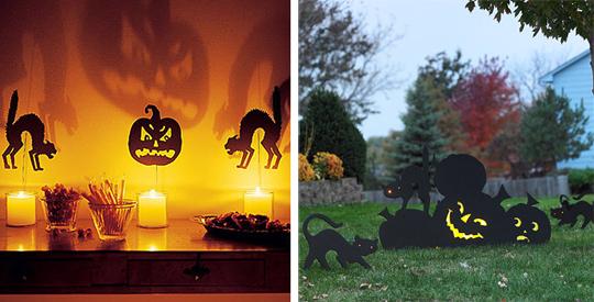 Свечи - простор для тврочества всех любителей Хэллоуина
