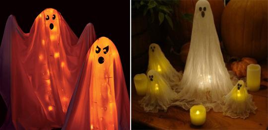 Хэллоуин светильник своими руками