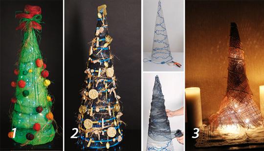 Новогодние елки-хендмейд