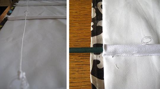 Шьем римские шторы: пошаговая инструкция