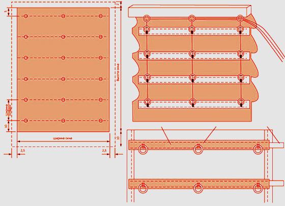 рулонные шторы из бумаги своими руками пошаговая инструкция - фото 10