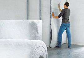 Полиэфирный утеплитель для стен